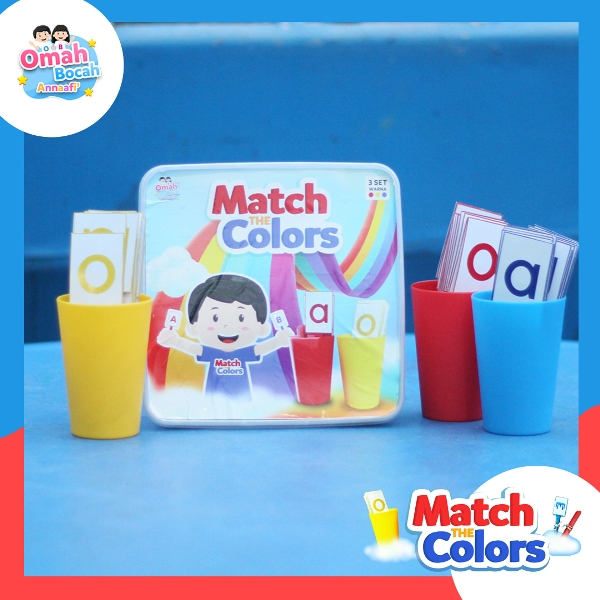Smart Education Toys - Match The Colors