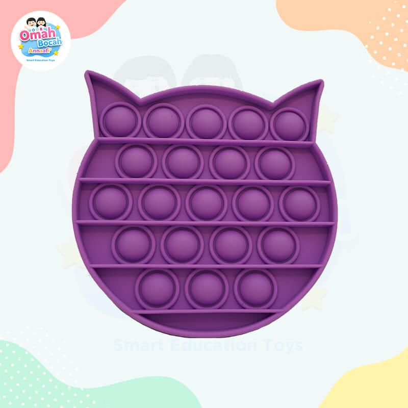 Pop It - Purple Cat